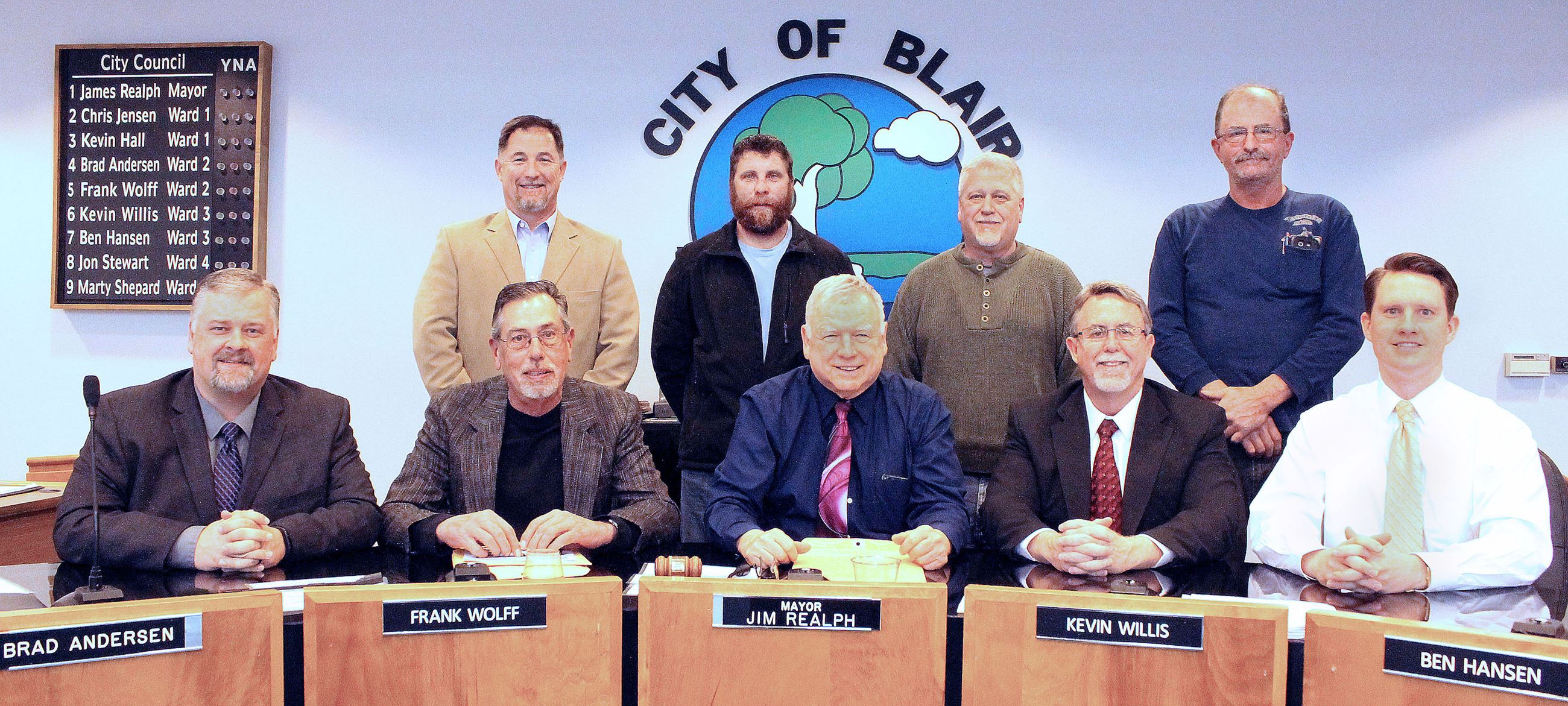 2016 Blair City Council